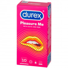 Durex Pleasure Me Kondomer 10 st  90