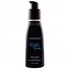 Wicked Aqua Chill Vattenbaserat Glidmedel 60 ml
