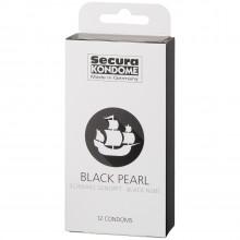 Secura Black Pearl Kondomer 12 st  90