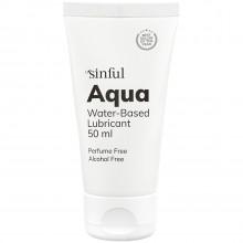 Sinful Aqua Vattenbaserat Glidmedel 50 ml  1