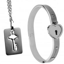 Master Series Armband med Lås och Nyckelhalsband  1