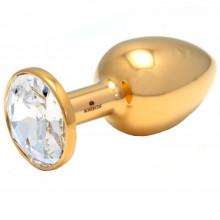 Rosebuds Gold Swarovski Cristal Butt Plug Medium  1