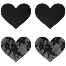 Peekaboos Nipple Stickers Hjärtan Spets 2-pack  1