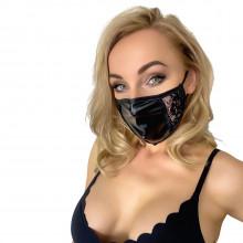 Noir Handmade Mask med Spets  1