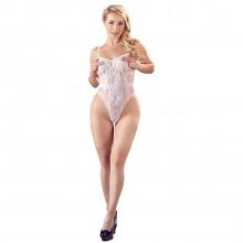 NO:XQSE White Crotchless Body Product model 1
