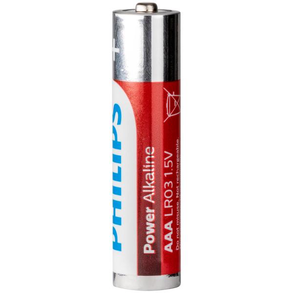 Philips LR03 AAA Alkaline Batterier 4 st  100