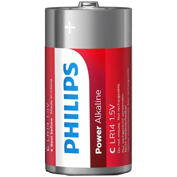 Philips LR14 C Alkaline Batterier 2 st  2