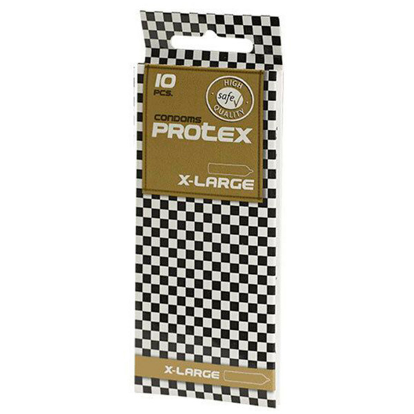 Protex X-Large Kondomer 10-pack  1