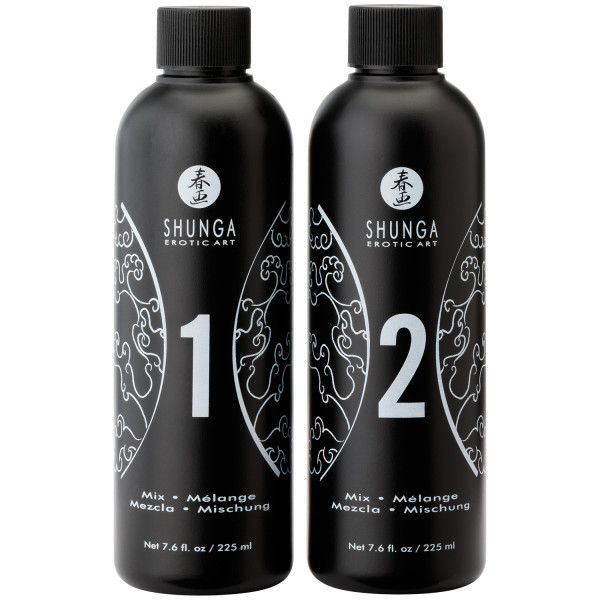 Shunga Body Slide Massage Gel Set 2 x 225 ml  3