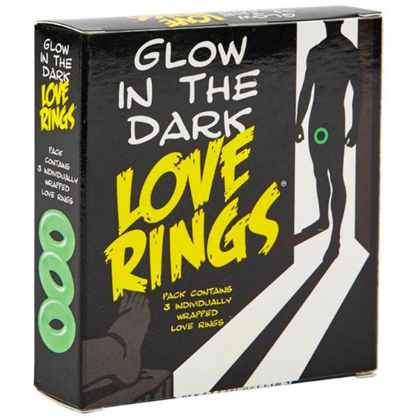 Glow in The Dark Självlysande Penisringar  2