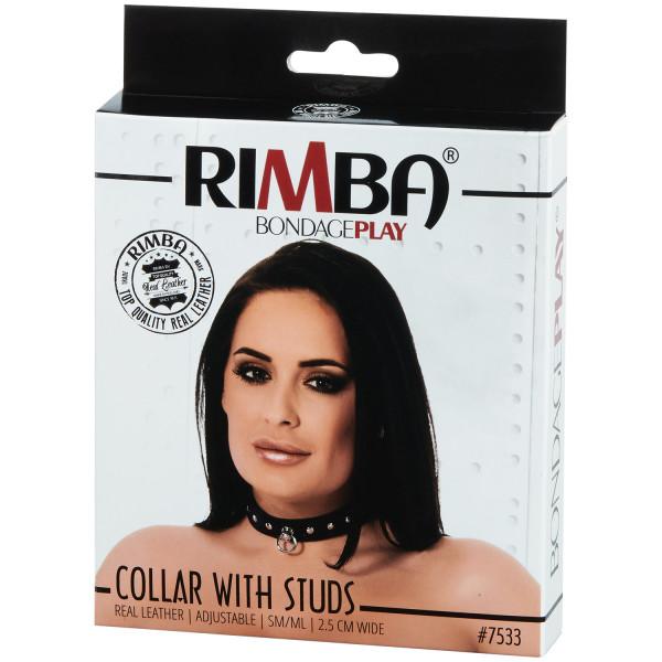 Rimba Justerbart Läder Halsband  bild på förpackningen 90