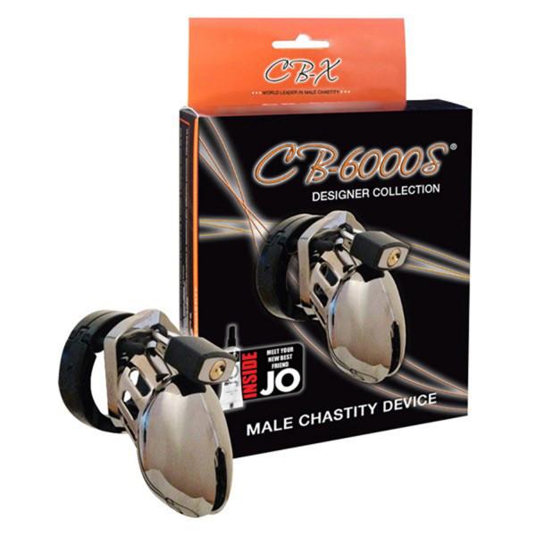 CB-6000S Chrome Kyskhetsbälte (6,35 cm) -PRISVINNARE  2