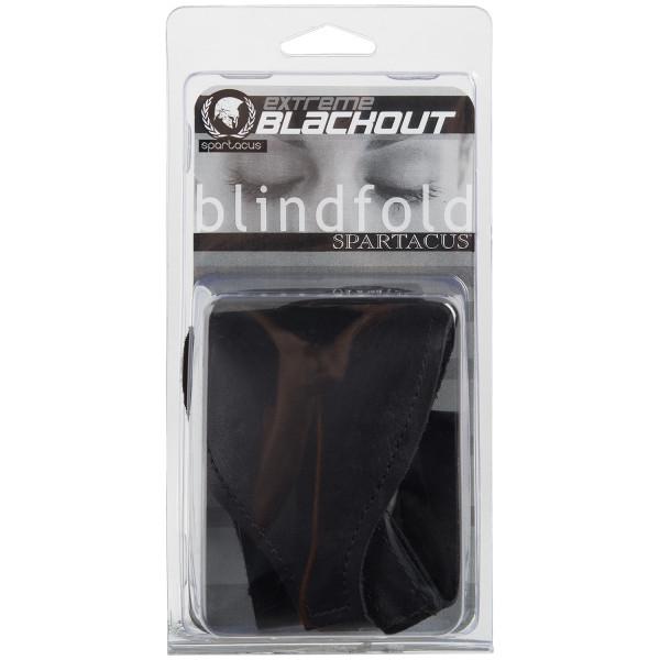 Spartacus Läder Blackout Ögonbindel bild på förpackningen 90