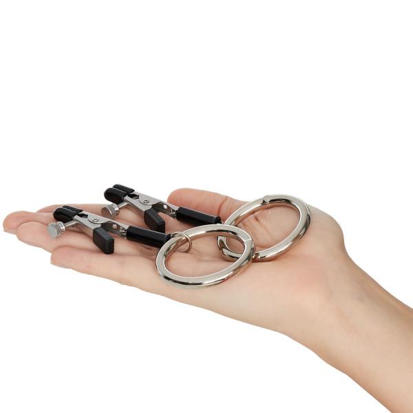 Spartacus Bully Rings Bröstklämmor produkt i hand 50