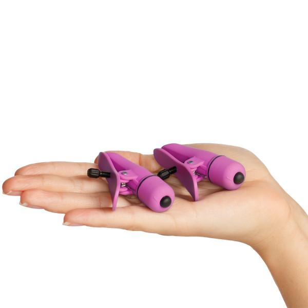 Nipplettes Bröstklämmor med Vibrator bild på förpackningen 50