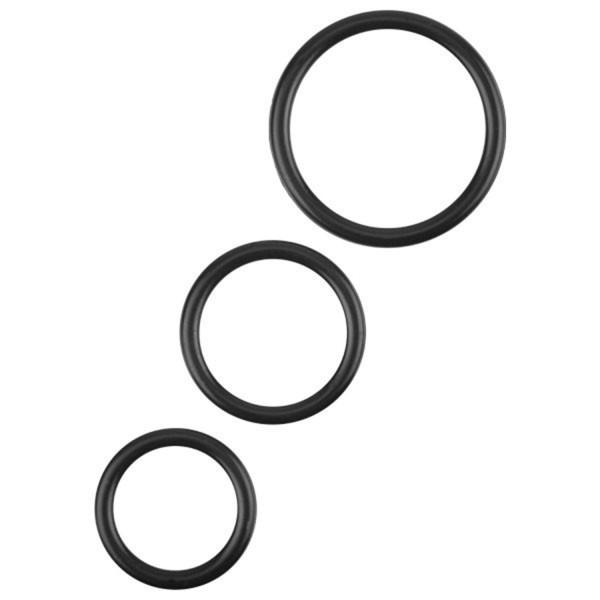 Xa Xa Xoom Triple Penisringskit i Silikon  1