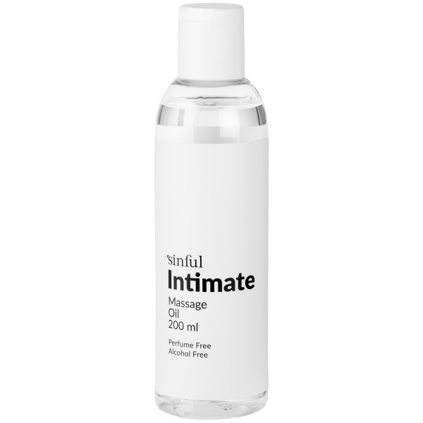 Sinful Intim Massageolja 200 ml produktbild 1