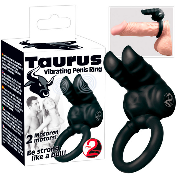 You2Toys Taurus Penisring med Vibrator  2