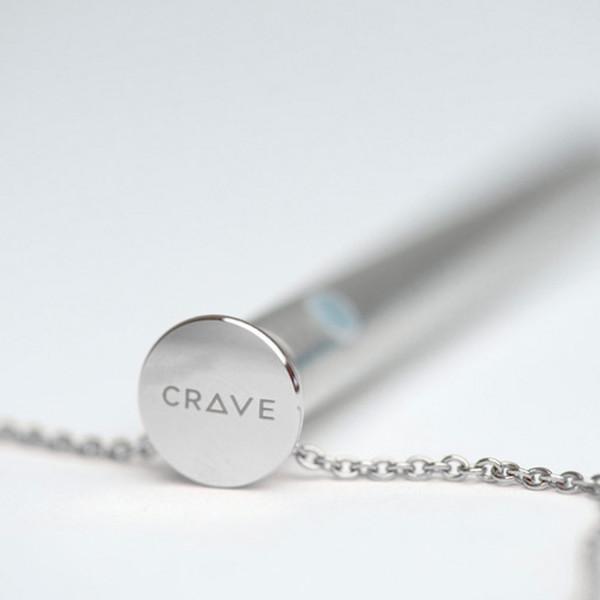 Crave Vesper Halsband med Vibrator Silver  2