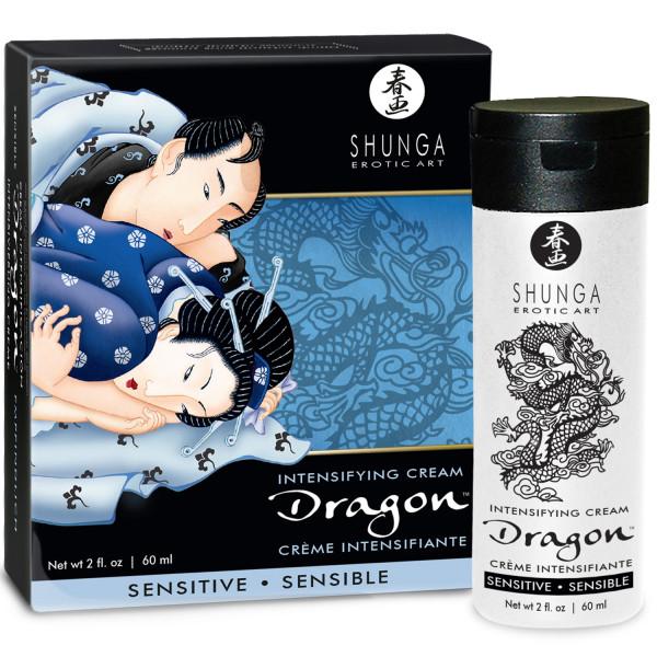 Shunga Dragon Sensitive Stimulerande Kräm 60 ml  2