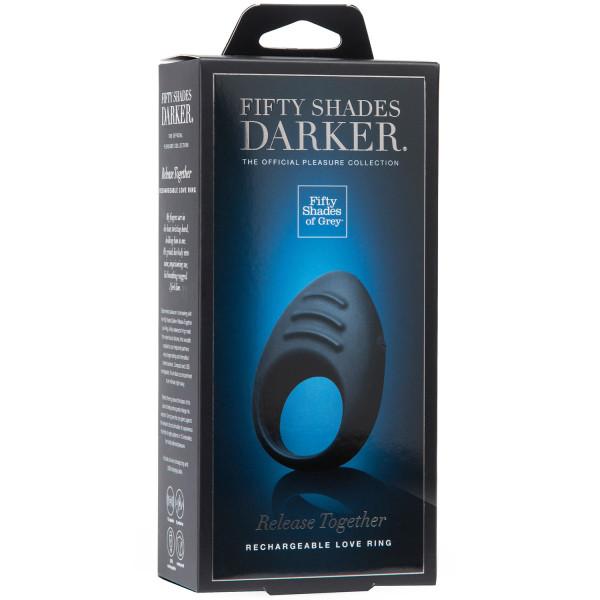 Fifty Shades Darker Release Together Uppladdningsbar Penisring  5