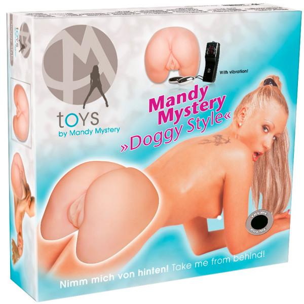 Mandy Mystery Doggy Style Masturbator  5