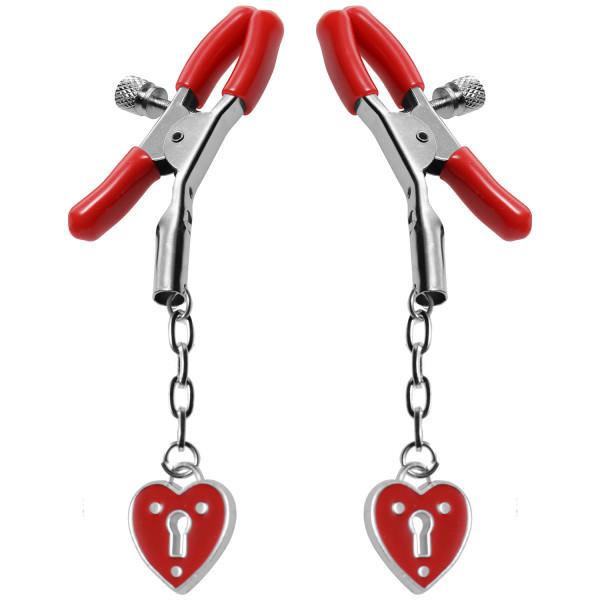 Master Series Captive Heart Bröstklämmor  1