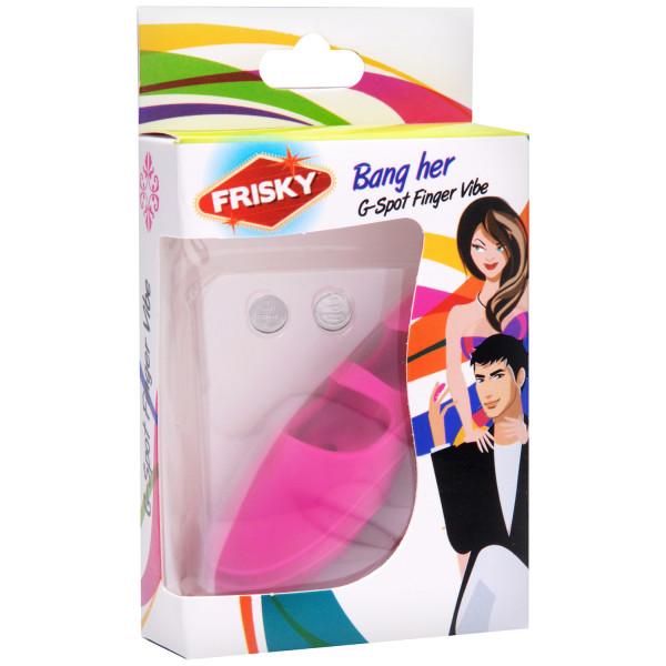 Frisky Bang Her G-punkts Fingervibrator  10