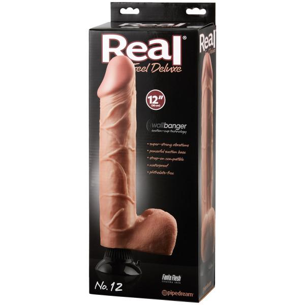 Real Feel Deluxe No. 12 Dildovibrator 30 cm bild på förpackningen 90