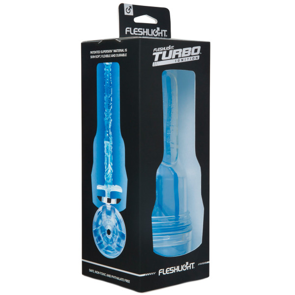 Fleshlight Turbo Ignition Blue Ice Masturbator  2