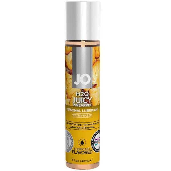 System Jo H2O Flavor Vattenbaserat Glidmedel med Smak 30 ml  1