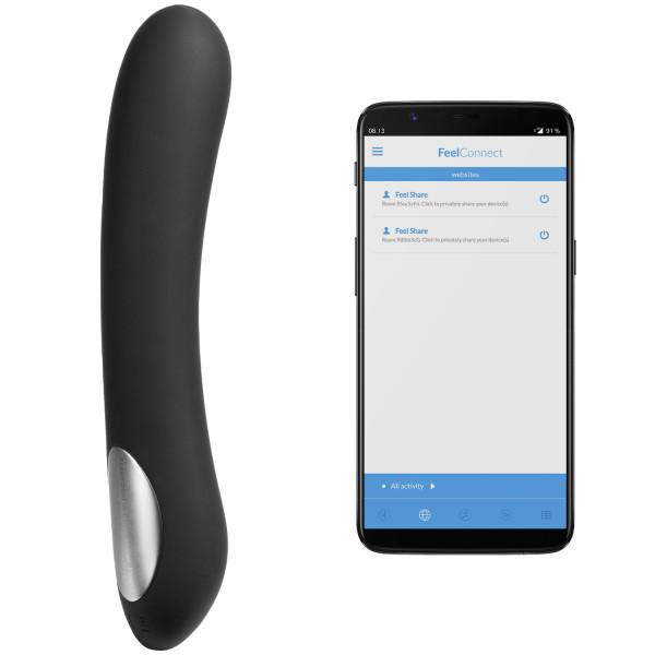 Kiiroo Pearl 2 Teledildonic Interaktiv Dildovibrator produkt och app 1