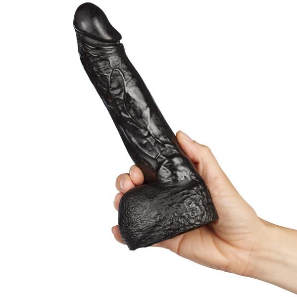 All Black Wilhelm Dildo 22 cm  2