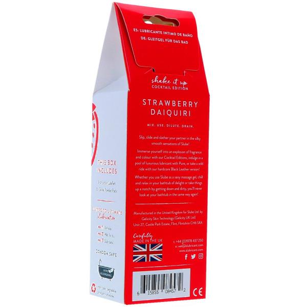 Slube Strawberry Daiquiri Vattenbaserat Badgel 250 g  2