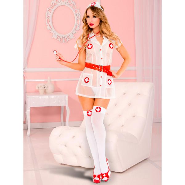 Music Legs Love Doctor Kostym  1