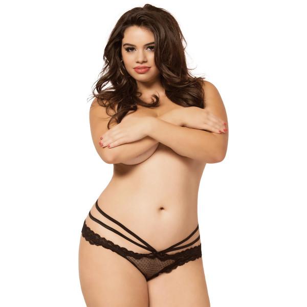 Seven til Midnight Laila Panty Grenlös Trosa Plus Size produkt på modell 1