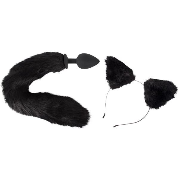 Bad Kitty Katt Analplugg och Öron  1