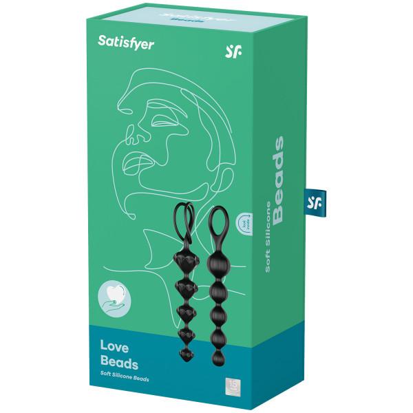 Satisfyer Love Beads Analkulor 2 st bild på förpackningen 90