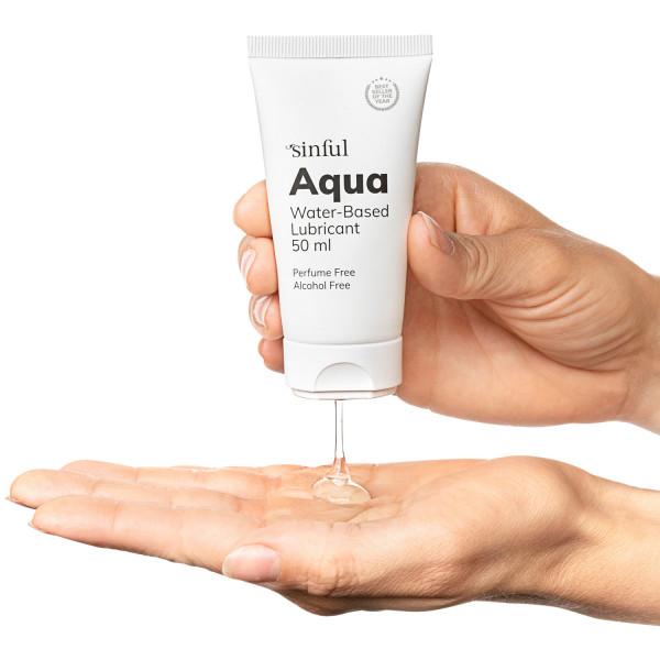 Sinful Aqua Vattenbaserat Glidmedel 50 ml  3