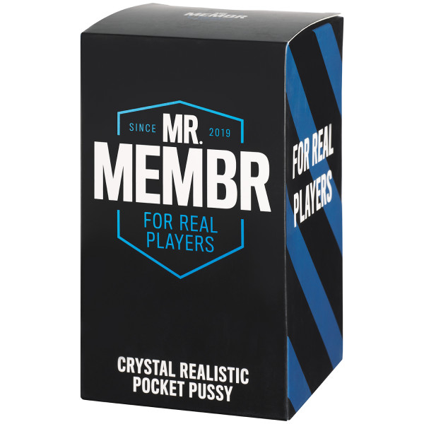 Mr. Membr Crystal Realistisk Pocket Pussy Pack 90