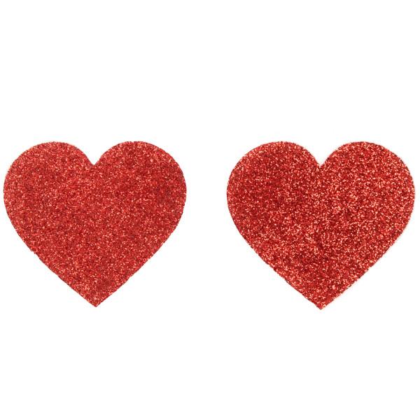 Cottelli Nipple Stickers Hjärtan  1