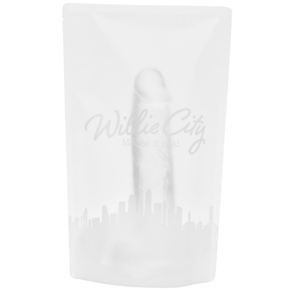 Willie City Classic Realistisk Klar Dildo 24,5 cm  5