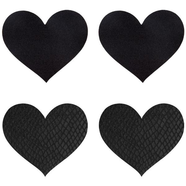 Peekaboos Nipple Stickers Hjärtan 2-pack  1