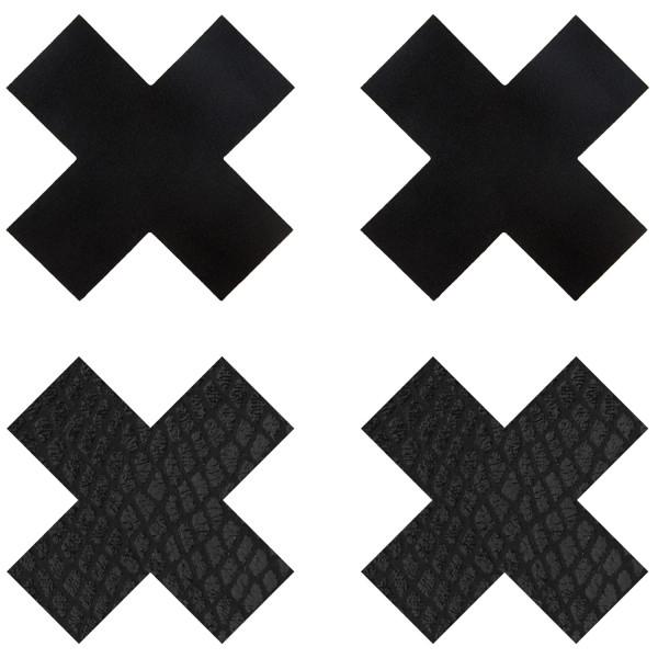Peekaboos Nipple Stickers Kryss 2-pack  1