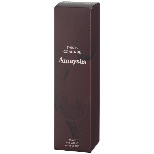 Amaysin Wave Vibrating Anal Beads Pack 90