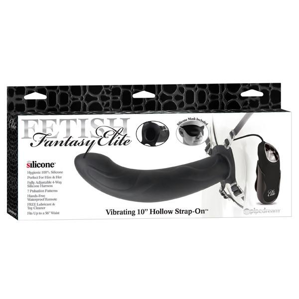 Fetish Fantasy Stor Hollow Strap-On Vibrator