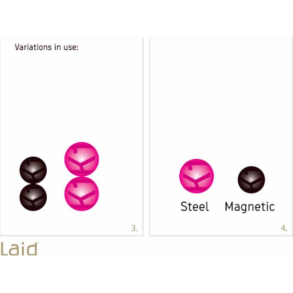 Laid K.1 Magnetic Balls Knipkulor