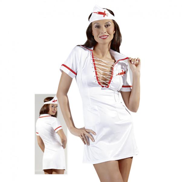 Cottelli Sjuksköterskedräkt med Snörning  2