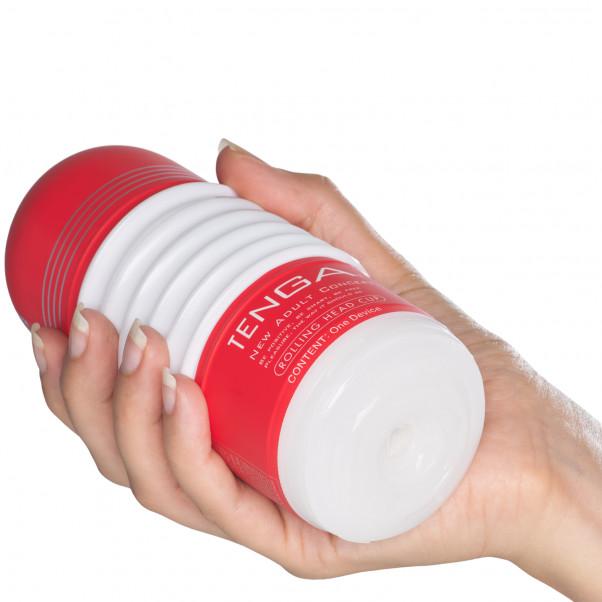 TENGA Rolling Head Cup Produktbild i hand 50