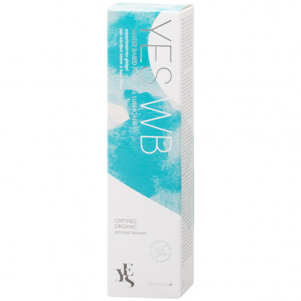 YES Vattenbaserat Intimvård och Glidmedel 150 ml  10